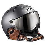 Kask Skihelme Class Matt Anthracite/Brown 58