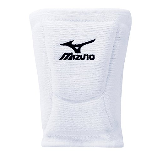 Mizuno LR6 Volleyball Kneepad, White, Medium