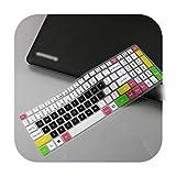 Funda protectora para teclado de ordenador portátil Acer Predator Helios 300 15 6' 17 3' G3 571 G3 572 Ph315 51 Ph317 52 Vx5 591G Vn7 793G talla única candyblack