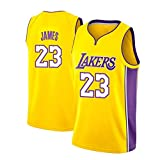 Th-some NBA Maillots de Baloncesto - Camisetas de Baloncesto NBA Bulls Jordan NO.23,Lakers James...