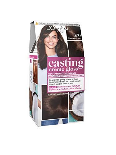 L'Oréal Casting 300 Donkerbruine crème Geen ammoniak - Estrosa haarkleurmiddel