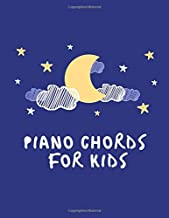 piano chords for kids: Blank Sheet Music Composition and Notation Notebook /Staff Paper/Music Composing / Songwriting/Piano/Guitar/Violin/Keyboard ... plus music notebook, large, black, hard cover