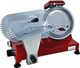 bkitchen AS 22022cm profesional auschnittmaschine, 250, aluminio, color rojo