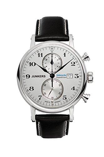 Junkers Reloj Cronógrafo para Hombre de Cuarzo con Correa en Cuero 65861