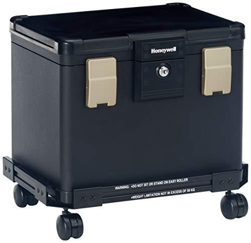 Honeywell Safe HONEYWELL Fire Wasserdicht Abheften Safe Brust mit Rad Warenkorb 1106W, mittel