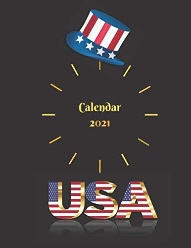 Calendar 2021 USA: Calendar With Week Numbers 2021. Weekly / Daily Planner. Quick Meeting Notes, Plans and Ideas In One Place. In Addition, Plenty Of ... Letter Size. Federal Holidays (US Edition)