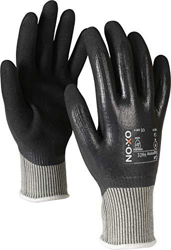 HandschuhMan. Ox-On Schnittschutzhandschuhe Stufe E schnittfeste Handschuhe Cut Supreme wasserdicht (9/L)