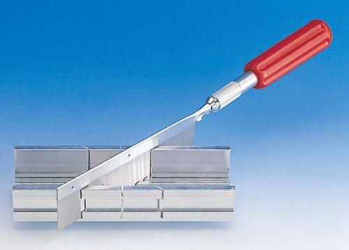 Preisvergleich Produktbild Aluminium-Gehrungslade mit Feinsäge