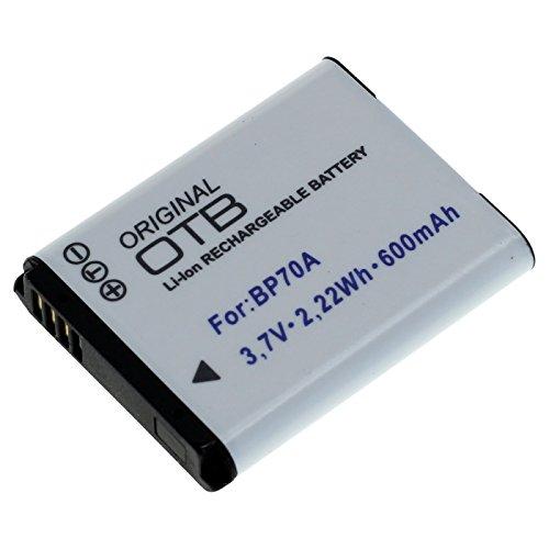 OTB Akku für Samsung EA-BP70A Li-Ion Schwarz