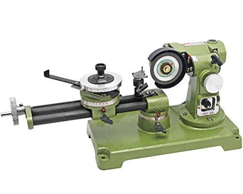 Hanchen Circular Saw Blade Sharpener 21.5' Electric Round Saw Blade Grinding Machine for Carbide, HSS, Plastics, Wood Table 350W 0-30°