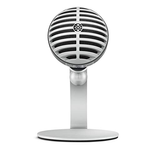 Shure MOTIV MV5 Digital Condenser Microphone (Grey)