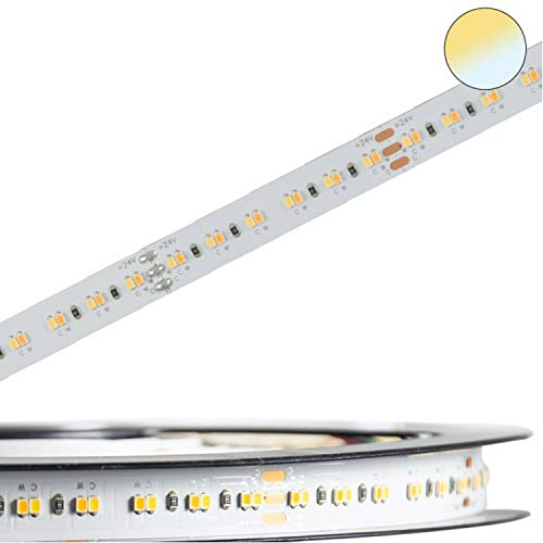 LED Strip Streifen Band InnoPro 2.0 weißdynamisch CCT - Homogen - Linear - 24V, 24W/280 LED/M, IP20, CRI90 Stripes Leiste Lichtleiste Bänder von INNOVATE®