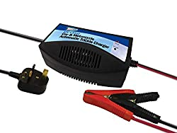 ✅ 12 V CHARGING ENVIRONMENTS: The trickle battery charger keeps batteries fully charged and better optimized that boosts the battery lifespan and overall performance. The automatic charger is suitable for different types of vehicles – motorhomes, tra...