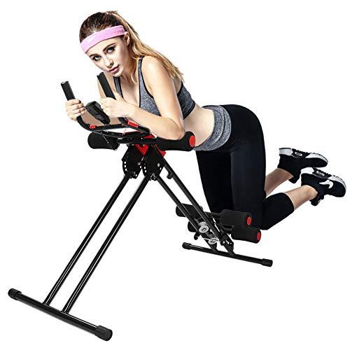 Profi Bauchtrainer, Bauchmuskeltrainer klappbar für Krafttraining/Ausdauertraining, zuhause Trainer Flyelf