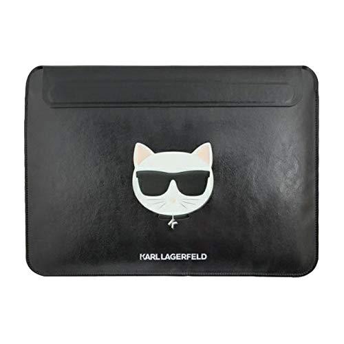 Karl Lagerfeld Väska för bärbar dator och surfplatta 13 tum svart fodral fodral fodral