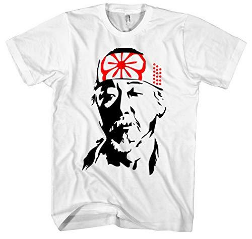 Mr. Miyagi Männer Herren T-Shirt | Karate Kid Cobra Kai Dojo Vintage Kampfsport | M1 (XXL)
