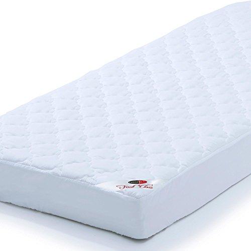 CelinaTex First Class Unterbett Matratzen-Schoner 140 x 200 cm Microfaser-Polyester Matratzen-Auflage Matratzenschutz