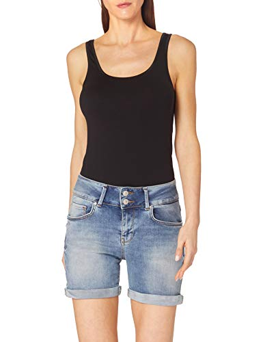 LTB Jeans Damen Becky X Jeans-Shorts, Zinnia Wash 53256, XS