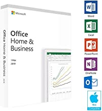 Microsoft Office Home and Business 2019 | 5 device, PC Key Card photo