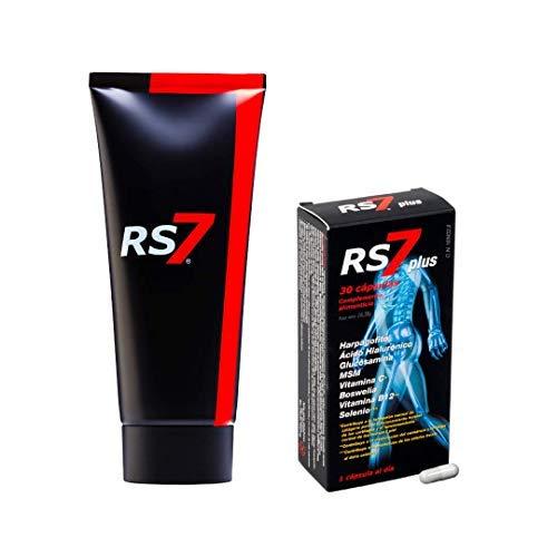 RS7 Plus Articulaciones 30 Cápsulas + Crema Fisio Forte 200ml.