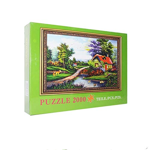 storefront 2000 Piezas De Rompecabezas, Rompecabezas De Papel De Paisajes De Primavera,...