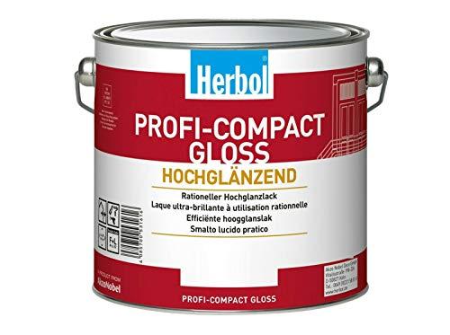 Herbol Profi Compact Gloss Aromatenfreier hochglänzender Lack 750 ml