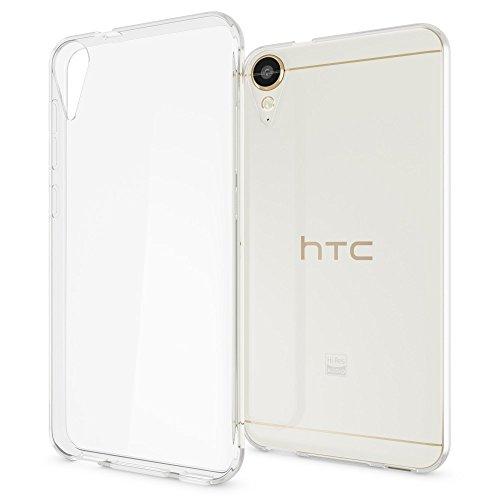NALIA Handyhülle kompatibel mit HTC Desire 10 Lifestyle, Ultra-Slim Soft TPU Silikon Hülle Cover, Crystal Clear Schutzhülle Dünn Durchsichtig, Handy-Tasche Backcover Smart-Phone Hülle - Transparent