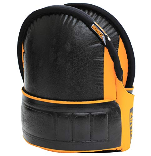Troxell USA - SuperSoft Knee Pads Hi-Viz Yellow - (Large Size / Bagged in pairs)