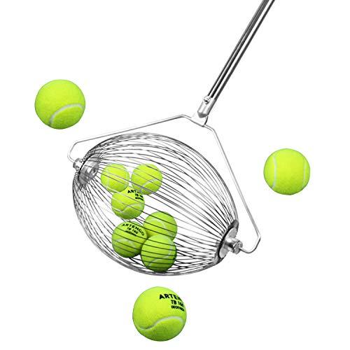 Yaegoo 40 Ball Collector Mini | Ball Picker Upper for Tennis, Pickleball, Padel and More | Holds 40 Tennis Balls or Pickleball Balls