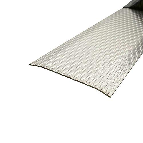 Übergangsprofil, Edelstahl 5WL, 1 mm stark, Übergangsprofile, 900 x 120 mm Übergangsleiste,Übergangsschiene