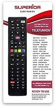 Superior - Mando a Distancia Universal de Repuesto para Todas Las TV Digitales de la Marca TELEFUNKEN & VESTEL Brands