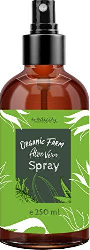 Organic Farm Spray de Aloe Vera Bruma hidratante y calmante Orgánica 250ml Cabello, Rostro, Cuerpo, After Shave y Depilación