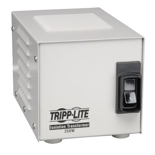 Tripp Lite IS250HG Isolation Transformer 250W Medical Surge 120V 2 Outlet TAA GSA