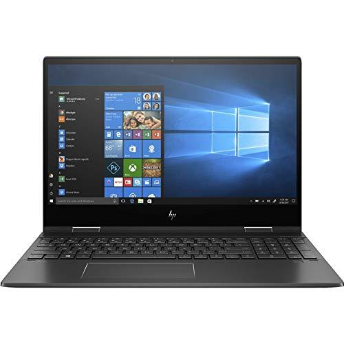 HP Envy x360 15-ds0004na 15.6' Full HD IPS Touchscreen Quad Core AMD Ryzen 5-3500U (2.1GHz up to 3.7GHz) 8GB RAM 256GB SSD Vega 8 Graphics Windows 10 Nightfall black