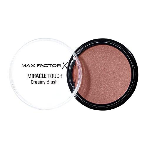 Max Factor Miracle Touch Creamy Blush Soft Copper 3 – Rouge aus einer cremigen Textur – Für einen natürlich frischen Look – Farbe Braun-Rot – 1 x 12 ml
