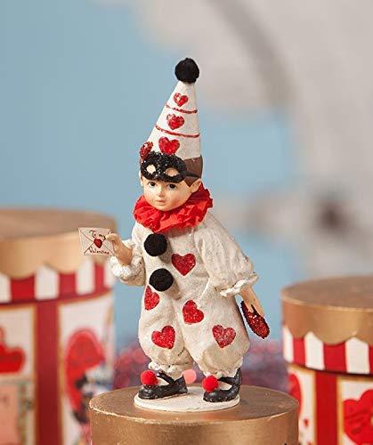 Bethany Lowe Valentine Clown Boy TD8493
