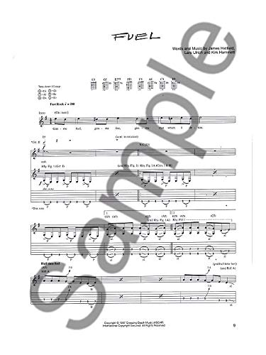 Play It Like It Is Guitar: Metallica - Reload. Partituras para ...