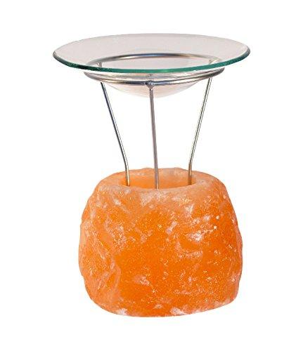 HIMALAYA SALT DREAMS Aromalampe Petite Rock, Orange