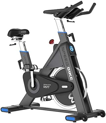 pooboo Commercial Exercise Bikes Stationary Indoor Cycling Bike with Comfortable Seat Cushion product image