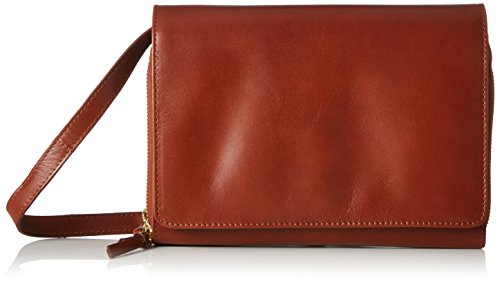 Royal Republiq Raf Eve, dames Cross-Body Tas, Braun (Cognac), 5x15x22 cm (B x H T)