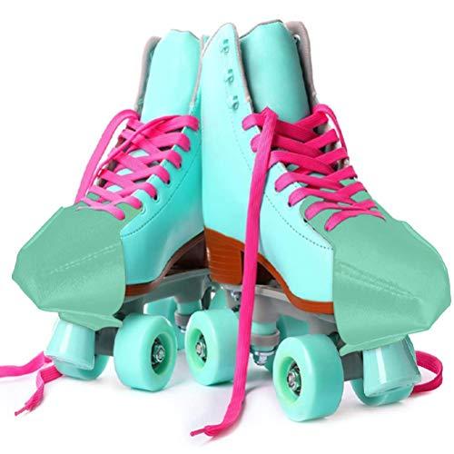 Eastleader 1 Paar Anti-Falten-Schuhe Faltenschutz, weiches und hartes Kombinationsset, Kunstleder-Rollschuhkappenschutz für Rollschuh-Sneaker-Freizeitschuhe