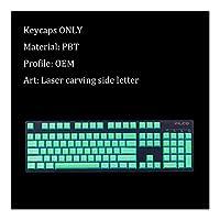 キーキャップ 104キーメカニカルゲーミングキーボード、交換PBTキーカバーのMXスイッチ、サイド輪郭手紙キーキャップ 便利なDIY特性 (Colore : Keycaps 3)