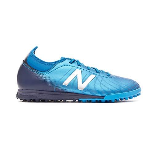 New Balance Tekela v2 Magique Turf Niño, Zapatilla de fútbol, Vision Blue