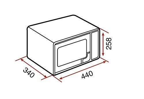 Teka MWE 225 G Microondas de libre instalación con grill y 8 menús de acceso directo, Acero inoxidable, 1050 W, 20 litros