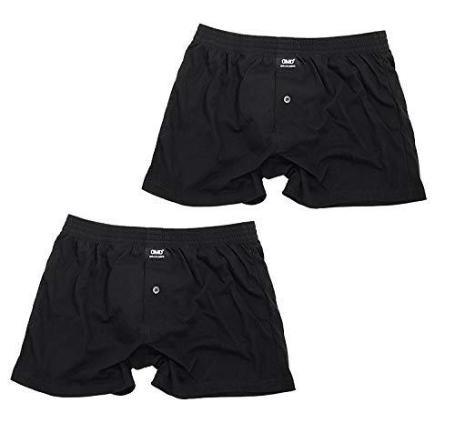 [バンタン] 尿漏れパンツ 男性用 2枚セット メンズ ニットトランクス(M ニットラ黒2枚)