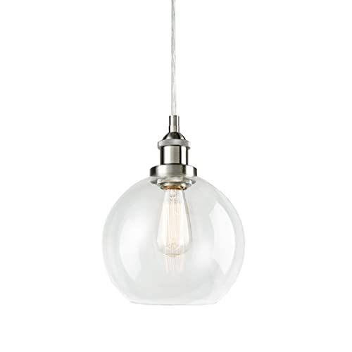 Clear Globe Pendant Light Amazoncom