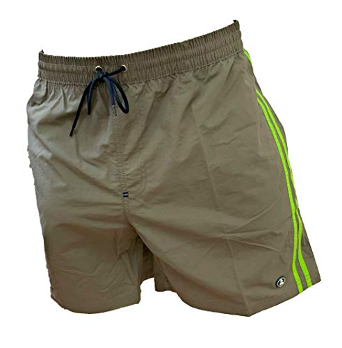 Navigare Boxer Mare Costume Uomo Pantaloncini da Bagno Swim Short Anche in Taglie conformate (Tribe 23-98342, 5XL)