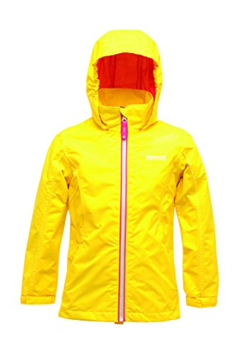Regatta Great Outdoors Mädchen Adventure Tech Jacke Chaca, Wasserfest (32 (164)) (Bright Gelb)
