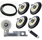4581EL2002C Dryer Drum Roller Kit for LG Kenmore Dryers Includes 4400EL2001A Dryer Belt 4561EL3002A Dryer Idler Pulley and Spring Replace 4581EL3001A 4581EL3001C 4581EL2002A 4561EL3002B 4400EL2001F