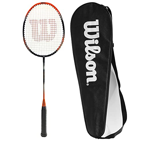 Photo of Wilson Recon 80 OX Badminton Racket with Full Length Racket Cover